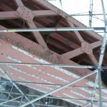 Первоначальные металлоконструкции пролетного строения моста