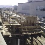 Строительство новых путепроводов осуществлялось в условиях плотно застроенной части города