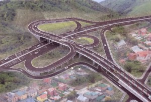 Развязка на Толе би – Восточная объездная дорога