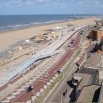 Строительство новой дамбы в прибрежном курорте Схевенингене