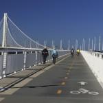 Велосипедная дорожка на новом мосту