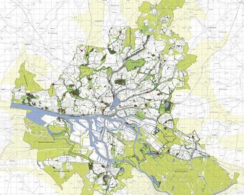 Hamburg's Green Network соединит пешеходными и велосипедными дорожками существующие зеленые зоны города