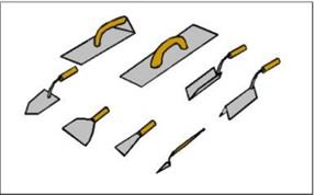 Рисунок 1. Строительные инструменты