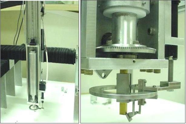 Рисунок 10. Машина для экструзии керамической пасты