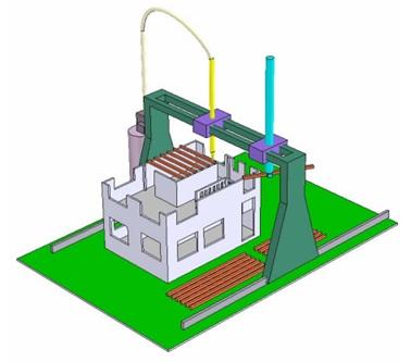 Рисунок 3. Строительство традиционных зданий ме-тодом КС