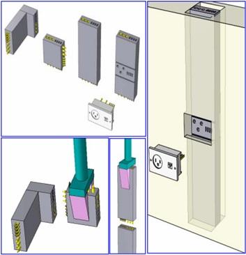 Рисунок 9. Электрические модули и процесс сборки